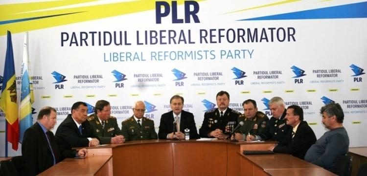 Eroii războiului de pe Nistru, alături de Partidul Liberal Reformator